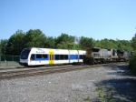 NJT 3504 and CSX 7528